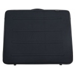 "Prestige™ Rugged Pro Deluxe Portfolio 20"" x 26"": Black/Gray, 2 1/4"", Vinyl, 20"" x 26"", (model EVM2026), price per each"