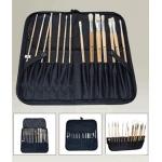 Weber Easel Back Brush Case, Black: Model # 66-JS1702