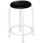 Martin Ashley White Studio Stool: Model # 91-01050