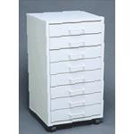 Mobile Cabinet I - Assembled: Model # U-TA8WS
