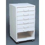 Mobile Cabinet I - Assembled: Model # U-TA6WS