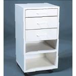 Mobile Cabinet I - Assembled: Model # U-TA13WS
