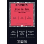 "Arches® ARCHES OIL PAPER 300G 22X30SHT: White/Ivory, Sheet, 22"" x 30"", Oil, 140 lb, (model 1795107), price per sheet"