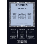 """Arches® ARCHES 88  22X30 300G (10): White/Ivory, Sheet, 22"""" x 30"""", Smooth, (model 1795153), price per sheet"""