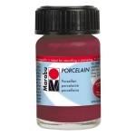 Marabu Porcelain Paint Blackberry 15ml: Purple, Jar, 15 ml, Porcelain, (model M11059039223), price per each