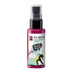 Marabu Art Spray Raspberry: Red/Pink, Bottle, 50 ml, Acrylic, (model M12099005005), price per each