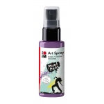 Marabu Art Spray Lavender: Purple, Bottle, 50 ml, Acrylic, (model M12099005007), price per each