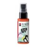 Marabu Art Spray Red Orange: Orange, Bottle, 50 ml, Acrylic, (model M12099005023), price per each
