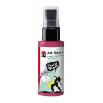 Marabu Art Spray Bordeaux: Red/Pink, Bottle, 50 ml, Acrylic, (model M12099005034), price per each