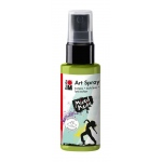 Marabu Art Spray Reseda: Green, Bottle, 50 ml, Acrylic, (model M12099005061), price per each
