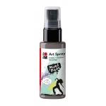 Marabu Art Spray Grey: Black/Gray, Bottle, 50 ml, Acrylic, (model M12099005078), price per each