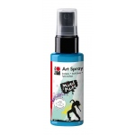 Marabu Art Spray Sky Blue: Blue, Bottle, 50 ml, Acrylic, (model M12099005141), price per each