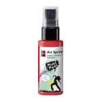 Marabu Art Spray Flamingo: Red/Pink, Bottle, 50 ml, Acrylic, (model M12099005212), price per each