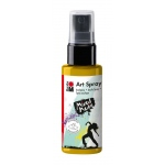 Marabu Art Spray Sunshine Yellow: Yellow, Bottle, 50 ml, Acrylic, (model M12099005220), price per each