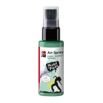 Marabu Art Spray Aquamarine: Green, Bottle, 50 ml, Acrylic, (model M12099005255), price per each