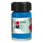 Marabu Glas Paint Gentian 15ml: Blue, Jar, 15 ml, Glass, (model M13069039057), price per each