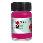 Marabu Glas Paint Raspberry 15ml : Red/Pink, Jar, 15 ml, Glass, (model M13069039131), price per each