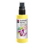 Marabu Fashion Spray Lemon 100ml : Yellow, Bottle, 100 ml, Fabric, (model M17199050020), price per each