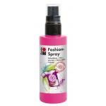 Marabu Fashion Spray Pink 100ml : Red/Pink, Bottle, 100 ml, Fabric, (model M17199050033), price per each
