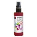 Marabu Fashion Spray Bordeaux 100ml : Red/Pink, Bottle, 100 ml, Fabric, (model M17199050034), price per each