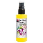 Marabu Fashion Spray Sunshine Yellow 100ml : Yellow, Bottle, 100 ml, Fabric, (model M17199050220), price per each