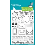 Lawn Fawn - Love Letters Stamps