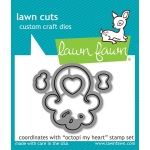 Lawn Fawn - Lawn Cuts - Octopi My Heart Dies