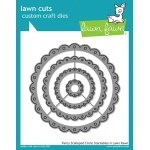 Lawn Fawn - Lawn Cuts - Fancy Scalloped Circle Stackables Dies