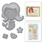 Spellbinders - Die D-Lites - Build-a-Mermaid