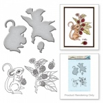 Spellbinders - Stamp & Die Set - Mouse