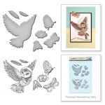 Spellbinders - Stamp & Die Set - Owl