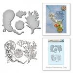 Spellbinders - Stamp & Die Set - Chysanthemum