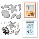 Spellbinders - Stamp & Die Set - Starfish