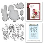 Spellbinders - Stamp & Die Set - Snail
