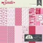 Authentique - 12x12 Paper Pad - Sweetie