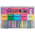 Gelly Roll® 64-Piece Gift Set: Gift Box, 64 Piece, Gel Pen, (model 57361), price per set