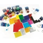 Speedball® Water Soluble Block Printing Ink Platinum White 1.25 oz : White/Ivory, Tube, Water Soluble, 1.25 oz, Block Printing, (model H3417), price per each