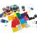 Speedball® Water Soluble Block Printing Ink White 1.25 oz: White/Ivory, Tube, Water Soluble, 1.25 oz, Block Printing, (model H3403), price per each