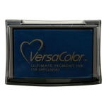 VersaColor™ Pigment Ink Pad Lapis Lazuli: Blue, Pad, Pigment, Full Size Rectangle, (model VC158), price per each