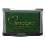 VersaColor™ Pigment Ink Pad Green Tea: Green, Pad, Pigment, Full Size Rectangle, (model VC161), price per each