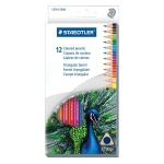 Staedtler® Triangular Colored Pencils 12-Set: Multi, Pencil, 12 Pencils, Colored, (model 1270C12), price per set