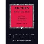 "Arches® 9"" x 12"" Oil Paper 12-Sheet Pad, (model 1795108), price per pad"