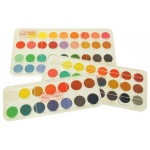 Royal Talens Talens® Angora™ Watercolor 24-Color Set: Multi, Pan, Watercolor, (model 60114), price per each