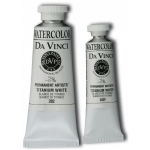 Da Vinci Artists' Watercolor Paint 15ml Titanium White: White/Ivory, Tube, 15 ml, Watercolor, (model DAV282F), price per tube