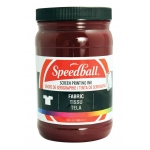 Speedball® Fabric Screen Printing Ink Burgundy : Red/Pink, Jar, Fabric, 32 oz, Screen Printing, (model 4686), price per each