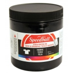 Speedball® 8 oz. Fabric Screen Printing Ink Black: Black/Gray, Jar, Fabric, 8 oz, Screen Printing, (model 4560), price per each