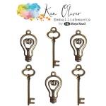 Maya Road - Ken Oliver - Vintage Charms - Bulbs and Keys