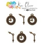 Maya Road - Ken Oliver - Vintage Charms - Clocks & Hands