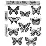 Stampers Anonymous - Tim Holtz - Flutter Stamp Set