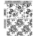 Stampers Anonymous - Tim Holtz - Vines & Roses Stamp Set